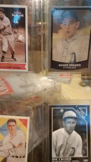Doc Cramer Baseball Cards 4 for Sale in Little Egg Harbor Township, NJ