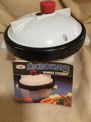 Microwave Tender Cooker new for Sale in Kissimmee, FL