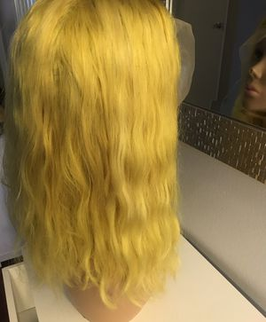 "Custom color Wet Look Wavy Human Hair Wig 12"" for Sale in Anaheim, CA"
