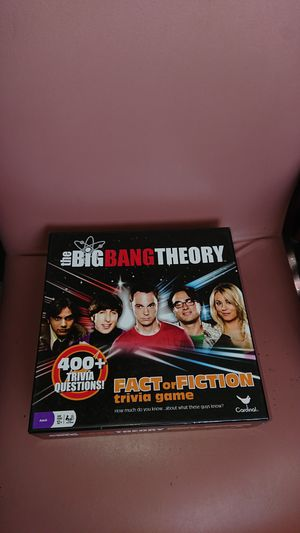 The Big Bang Theory board game for Sale in Glendale, AZ
