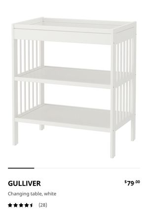Changing table for baby for Sale in San Juan Capistrano, CA