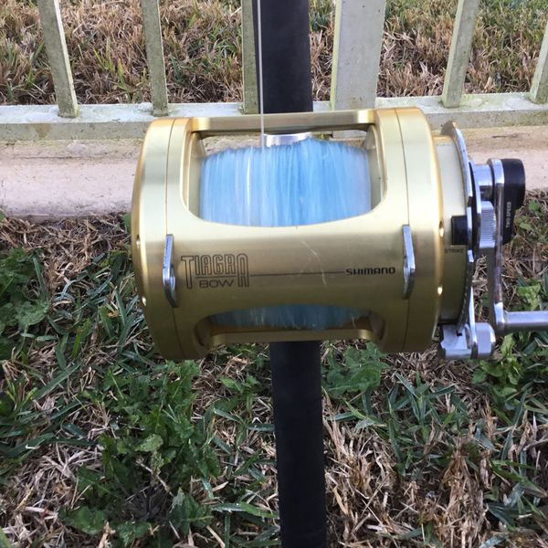 Shimano Tiagra 80w For Sale With Lion rod