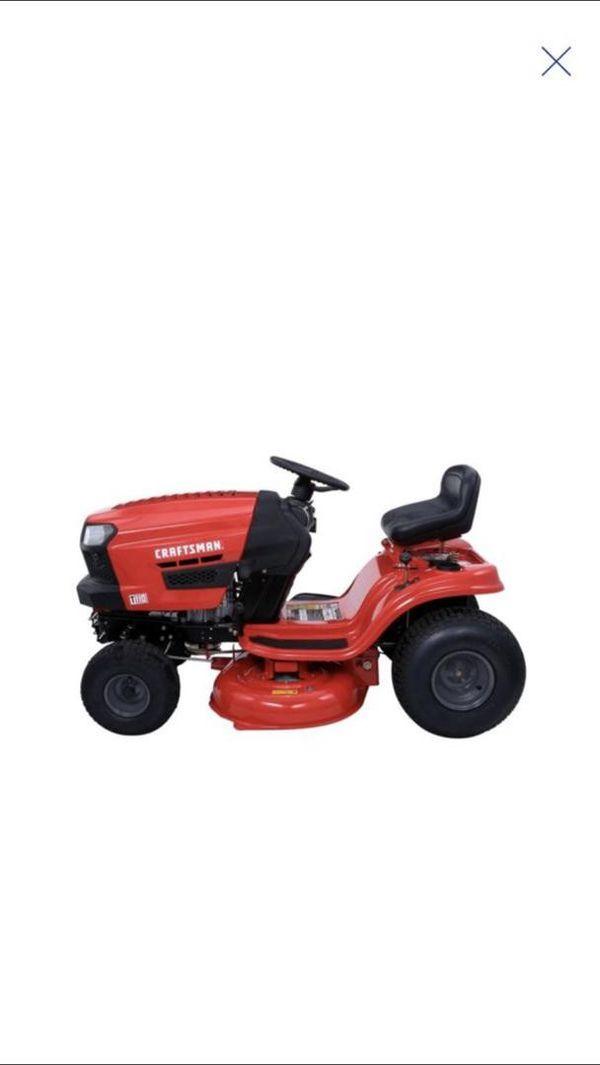 CRAFTSMAN T110 17 5-HP Manual/Gear 42-in Riding Lawn Mower for Sale in  Greenback, TN - OfferUp