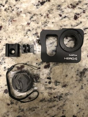 Aluminum Housing Case Frame with 37mm UV filter for GoPro Hero 4 , black color for Sale in Windermere, FL