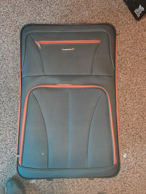 Rockland 3 piece luggage grey orange for Sale in North Providence, RI
