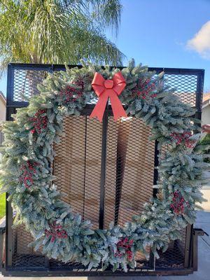 "48"" Christmas Wreath for Sale in Clovis, CA"
