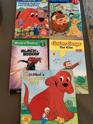 Level 1 Reading Books I Can Read Step Into Reading Toddler for Sale in San Antonio, TX