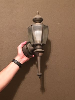 Large exterior/outdoor light for Sale in Austin, TX