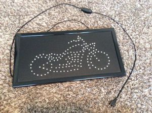 Motorcycle LED Sign for Sale in Kennewick, WA