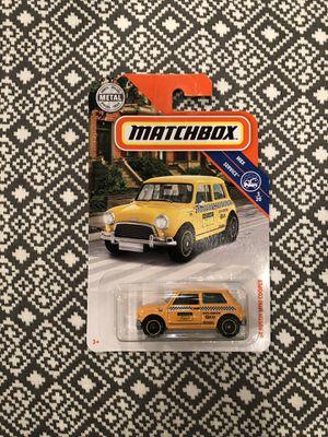 '64 Austin Mini Cooper taxi cab Matchbox car for Sale in Pasadena, CA