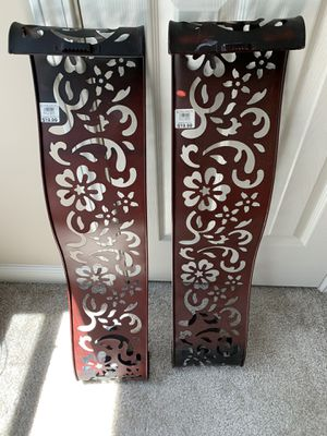 Wall sconces with candle holder for Sale in Powder Springs, GA