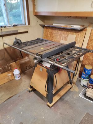 Craftsman Table Saw for Sale in Columbus, OH