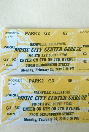 Parking Feb. 25th Music City Parking Garage for Sale in Nashville, TN