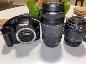 CANON REBEL T3 for Sale in Mansfield, TX