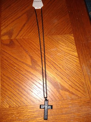 Black cross necklace for Sale in Maryville, TN