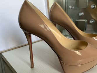 Christian louboutin Fetish Peep Size 7/nude for Sale in Pinellas Park,  FL