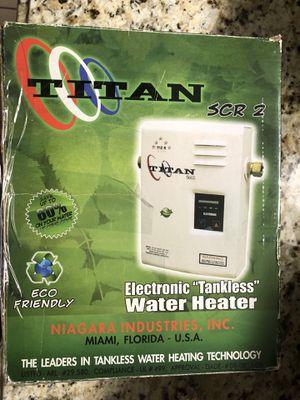 New TITAN water heater SR2 for Sale in Miami, FL