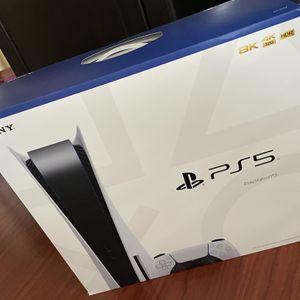 Playstation 5 Disc W/ Extra Dualsense Controller for Sale in Garden Grove, CA