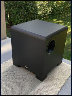 "Klipsch KSW 100 Black 8"" 100w. Subwoofer for Sale in Kent,  WA"