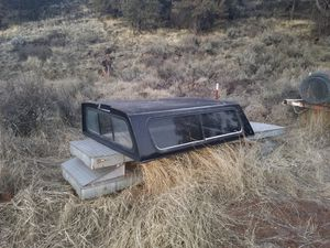 Camper shell for small pickup for Sale in Macdoel, CA