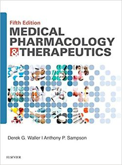 Medical Pharmacology and Therapeutics 5th edition by Derek Waller, Anthony Sampson 9780702071676 eBook PDF Free instant delivery for Sale in City of Industry,  CA