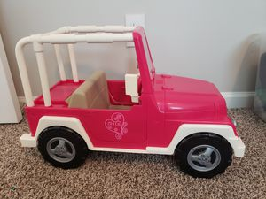 Our generation jeep for dolls for Sale in Gastonia, NC
