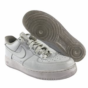 Nike Air Force 1 '07 Mens White Leather Sneakers Shoes 315122-111 Size 10.5 for Sale in Henderson, NV