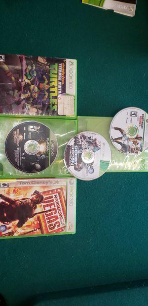 5 xbox 360 games for Sale in Stockton, CA