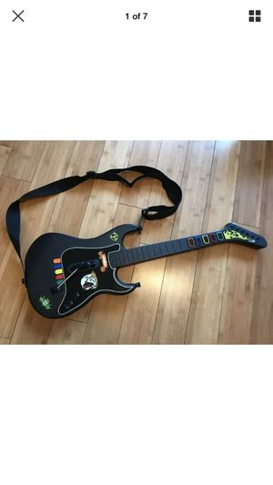 Guitar Hero Wireless Kramer PS2 controller With the Strap! PlayStation 2 - Clean for Sale in Menifee, CA