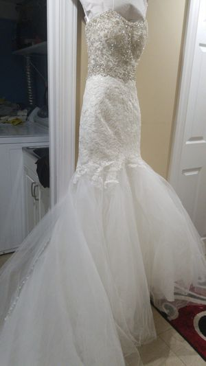 Wedding new Dress size 2 for Sale in Woodland Park, NJ