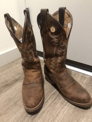 Double H Western Boots, Women's size 8.5 - cowboy boots, brown boots, work boots for Sale in Seattle, WA