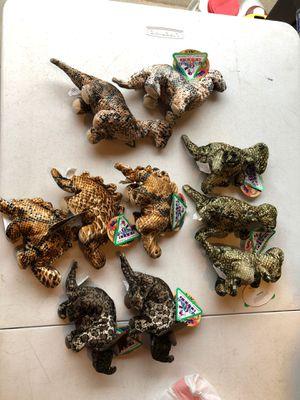 Precious Beany Dinosaur Babies set of 10 for Sale in Manassas, VA
