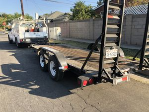 24 ft trailer HD axles and torsion bars. Or trade. for Sale in Fullerton, CA