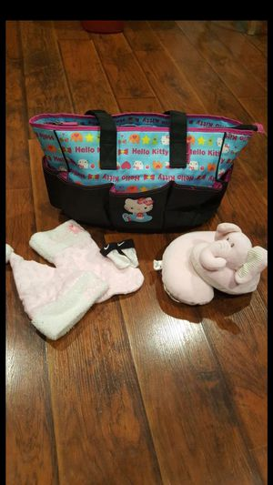 Hello Kitty Diaper bag for Sale in San Antonio, TX