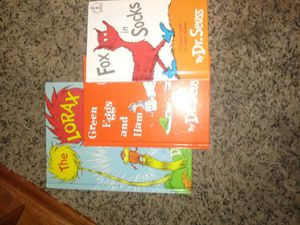 3books dr.seuss. books for Sale in Dayton, OH