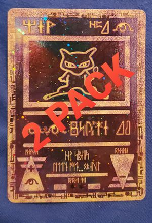 2-Pack Pokemon the Movie Promo Card - Ancient Mew for Sale in Lathrop, CA