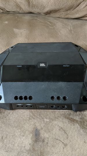 JBL car audio amp 300 watts bridge capability for Sale in Denver, CO