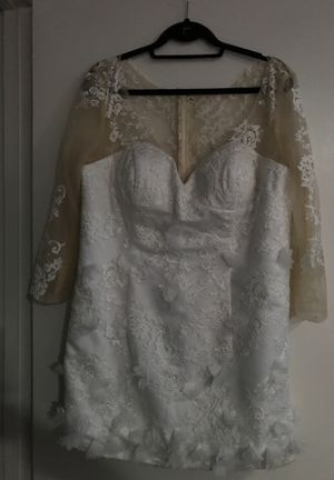 White/tan sheer shell dress for Sale in Fort Washington, MD