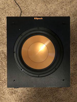 Klipsch Subwoofer R-10SW 300 Watt for Sale in Buffalo, NY