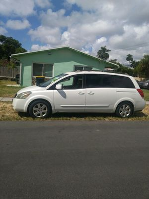 2005 Nissan quest SE 3.5 engine mini van for Sale in Hollywood, FL