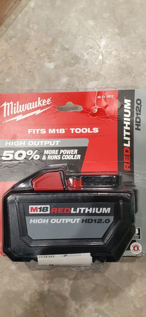 Milwaukee 18-V High Output Battery FIRM PRICE for Sale in Santa Ana, CA