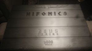 HIFONICS ZEUS Z600 AMPLIFIER for Sale in Puyallup, WA