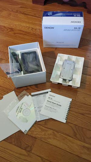 Denon DA-10 Portable USB-DAC/Headphone Amplifier for Sale in Pikesville, MD