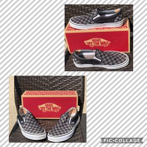Classic Slip On Checkered Vans for Sale in Racine, WI
