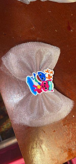 Custom baby shark hair bow for Sale in Brooklyn, NY