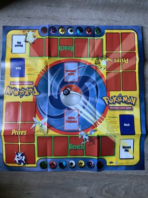 Pokemon Card Vintage Playmat Hard to Find Good Condition OBO for Sale in Garden Grove, CA