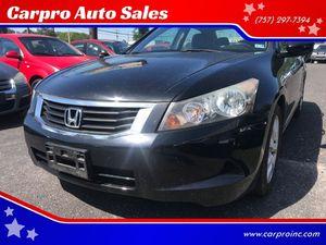 2009 Honda Accord Sdn for Sale in Chesapeake, VA