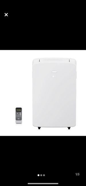 LG portable air conditioner with dehumidifier for Sale in Voorhees Township, NJ