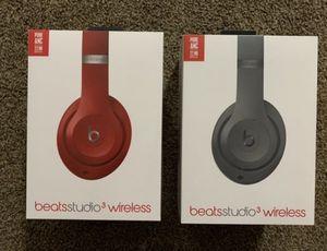 Beat studio 3 wireless bluetooth headphones for Sale in Chula Vista, CA
