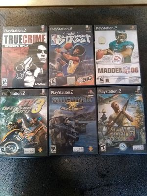 PS2 GAMES for Sale in South Gate, CA